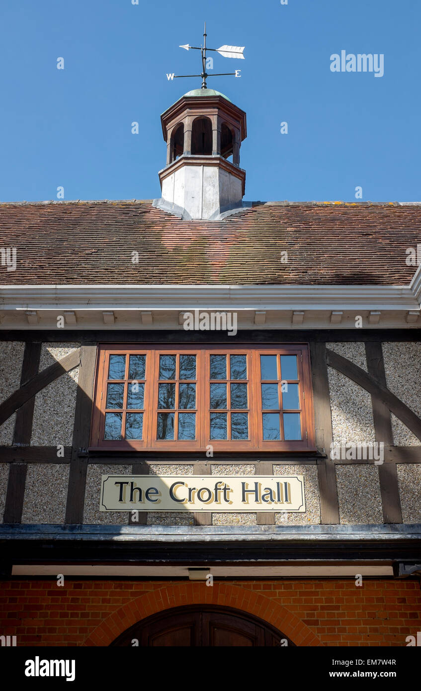 The Croft Hall in Hungerford West Berkshire - Stock Image