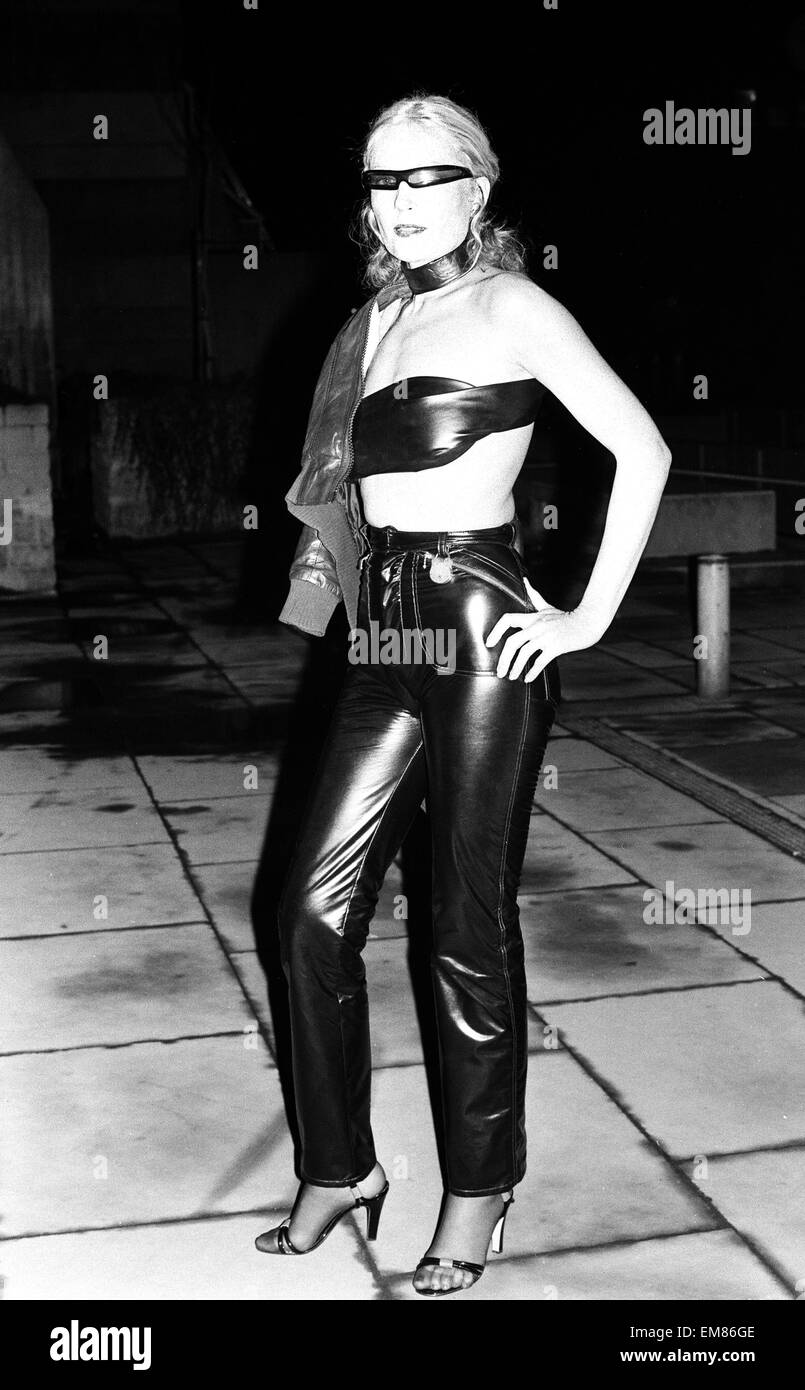 Premiere of punk film 'Jubilee' at The New Gate cinema . 22nd February 1978. - Stock Image