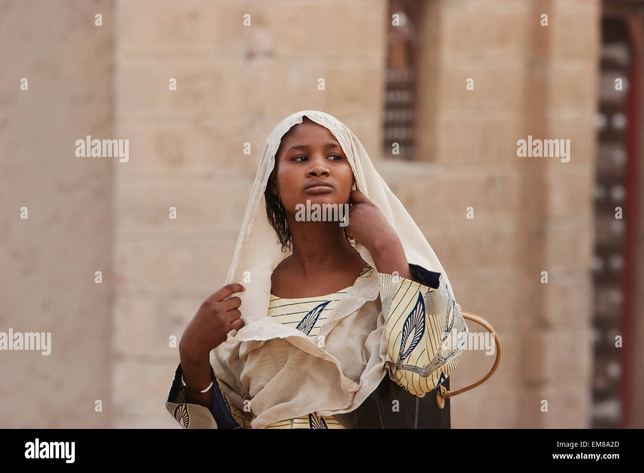 Young woman, Timbuktu, Mali - Stock Image