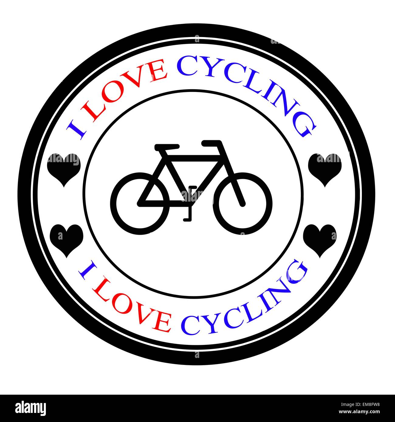 I Love Cycling Stock Photos I Love Cycling Stock Images Alamy