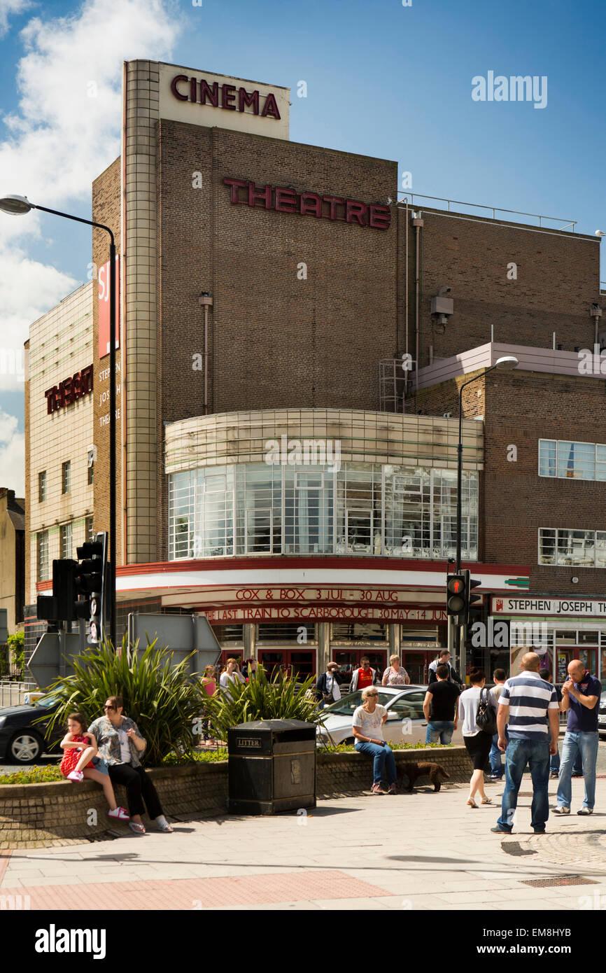 UK, England, Yorkshire, Scarborough, Stephen Joseph Theatre - Stock Image