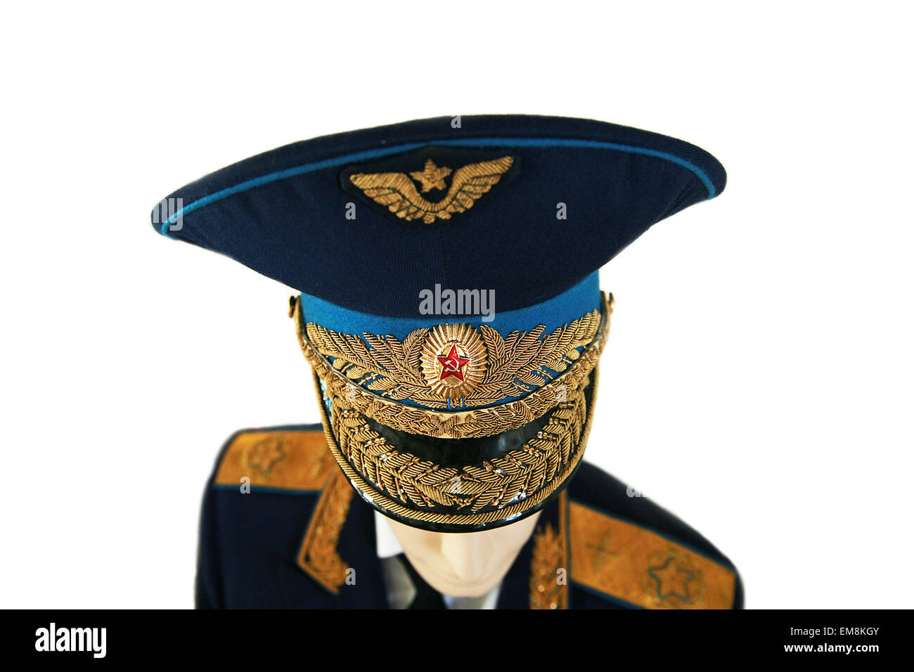 23ba0e374d291 soviet army air force officer uniform general marshal isolated Stock ...