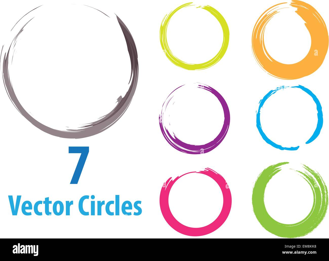 vector circles - Stock Vector