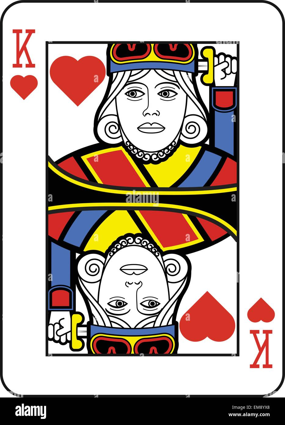 King Of Hearts Stock Photos & King Of Hearts Stock Images - Alamy