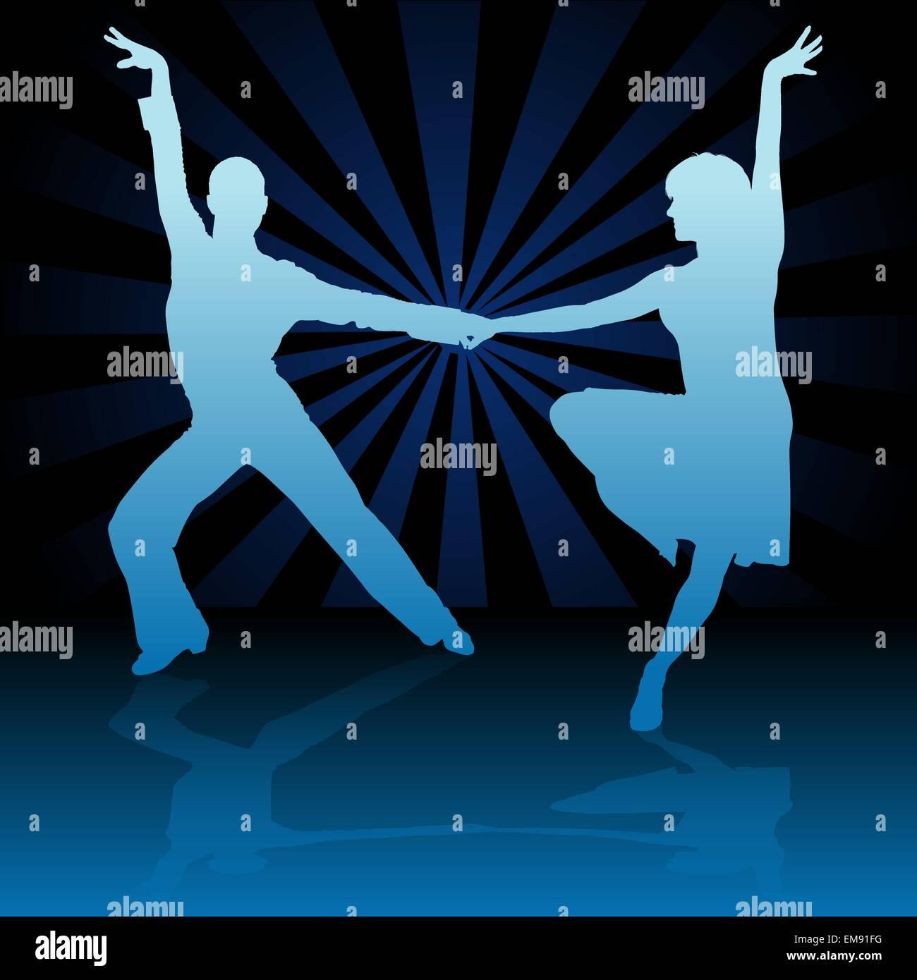 Latino American Dance - Stock Image