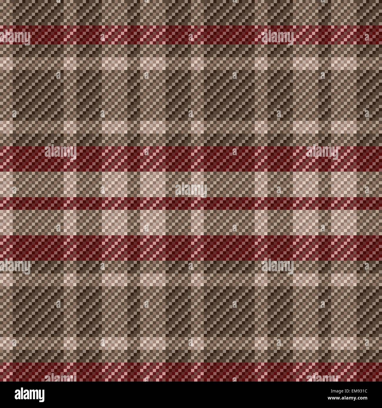 Checkered seamless tartan pattern - Stock Vector