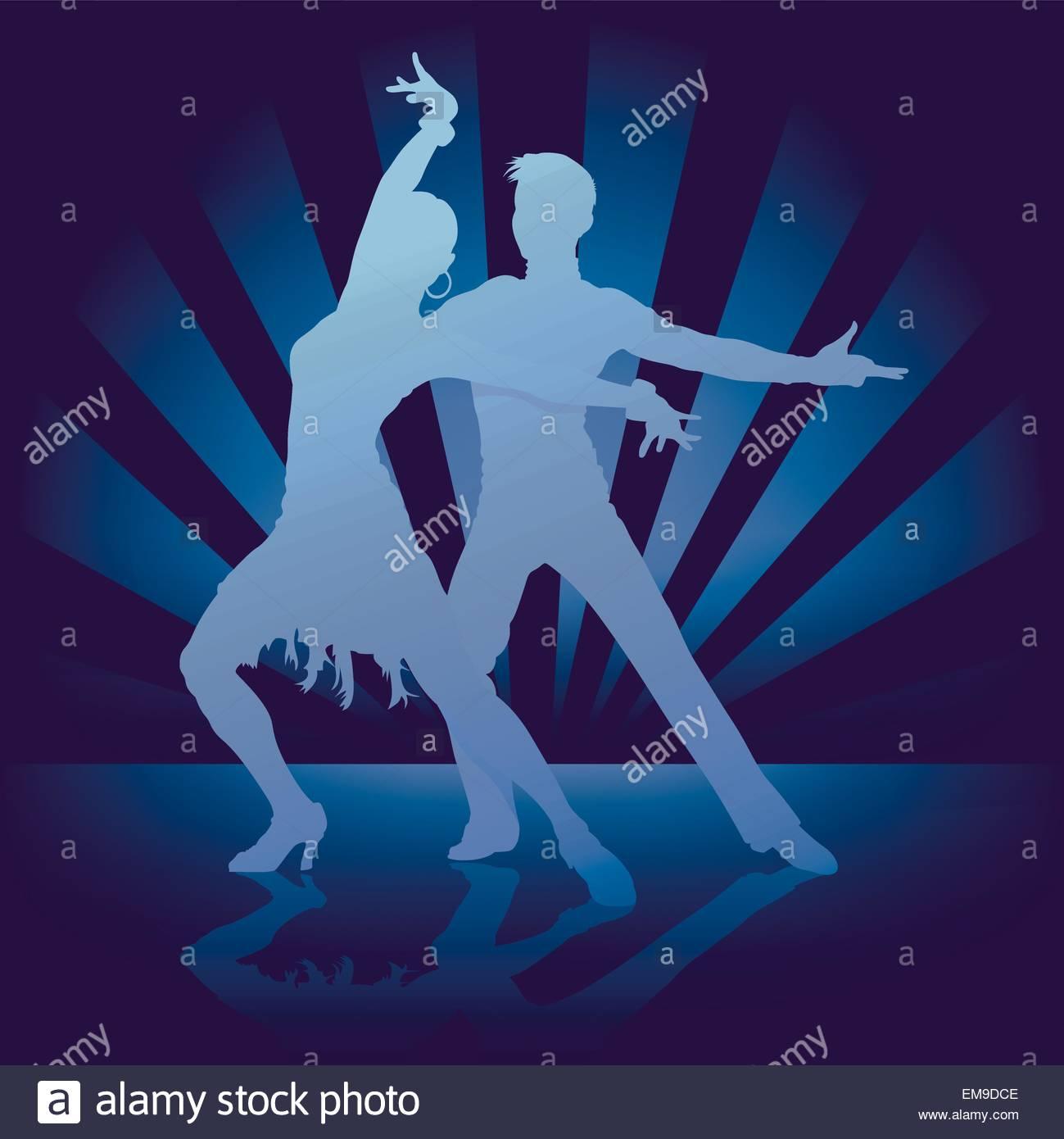 Dance Rumba - Stock Image