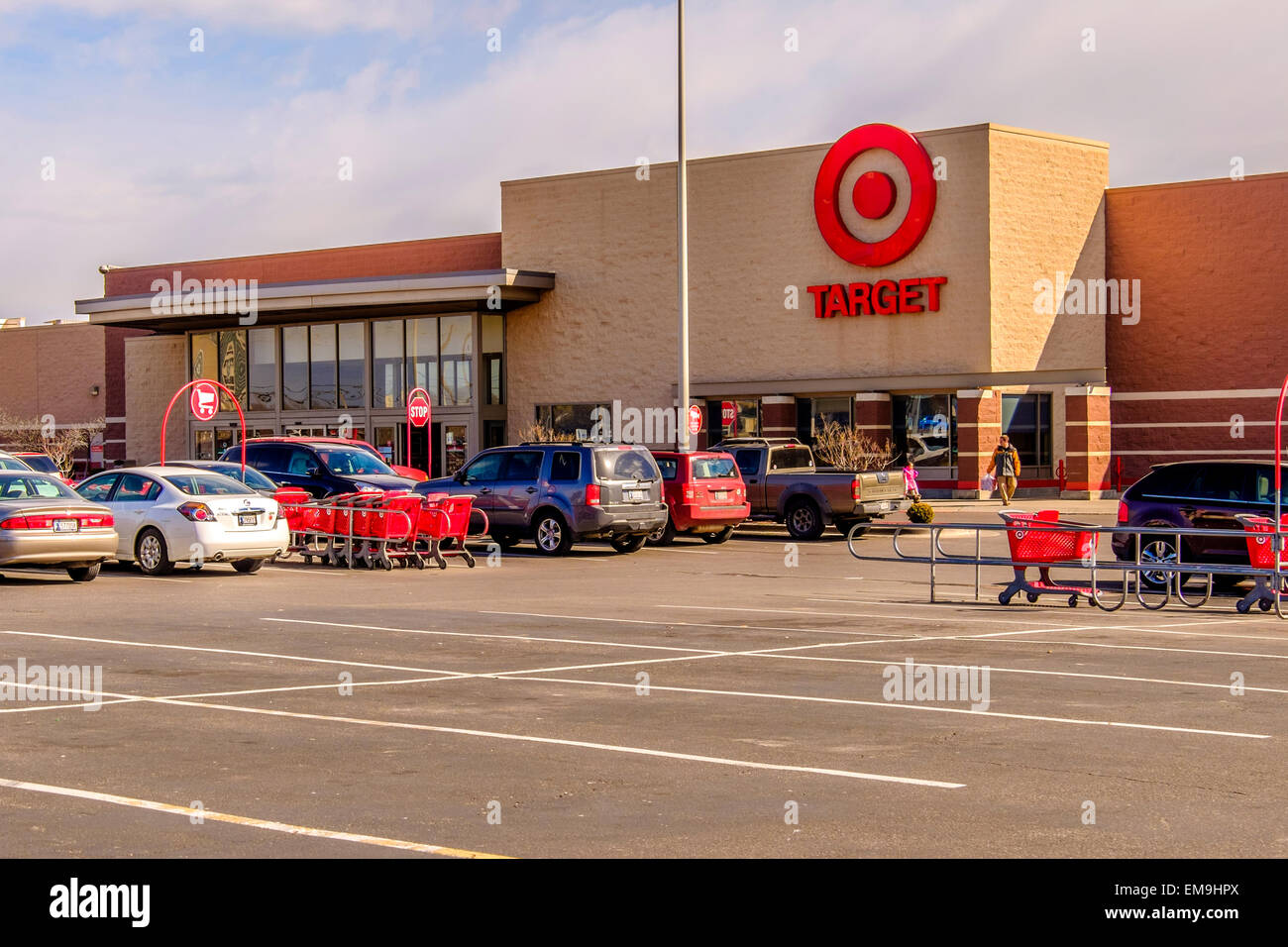 Target A Chain Discount Store In Oklahoma City Oklahoma Usa Stock