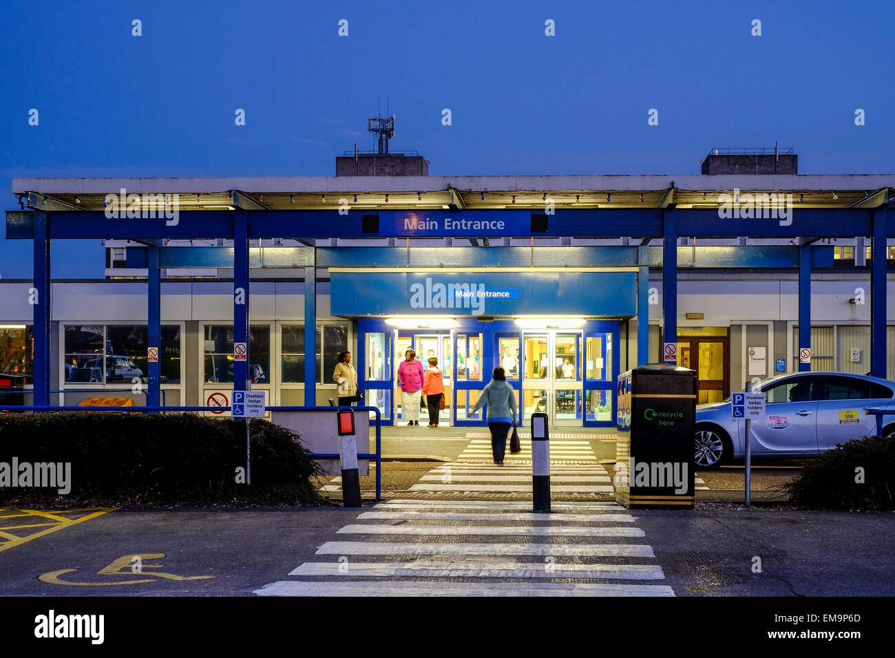 Royal Preston Hospital provides a wide range of emergency, elective and specialist healthcare services to 370,000 - Stock Image