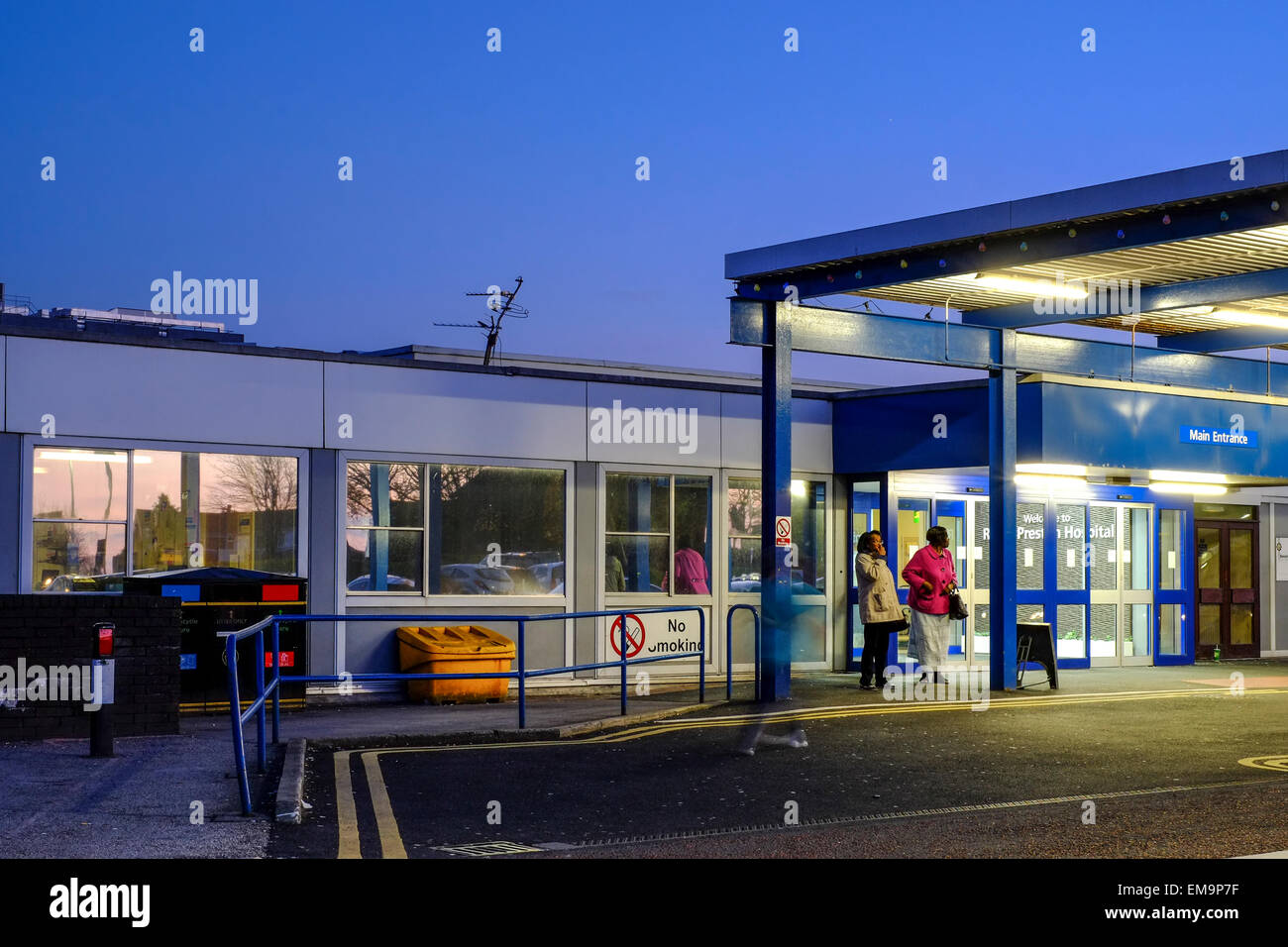 Royal Preston Hospital provides a wide range of emergency, elective and specialist healthcare services - Stock Image
