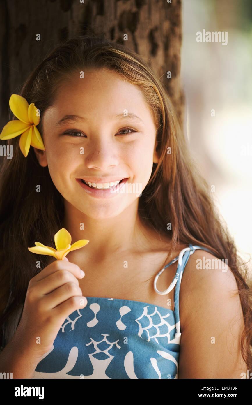 Was Young hawaiian teen