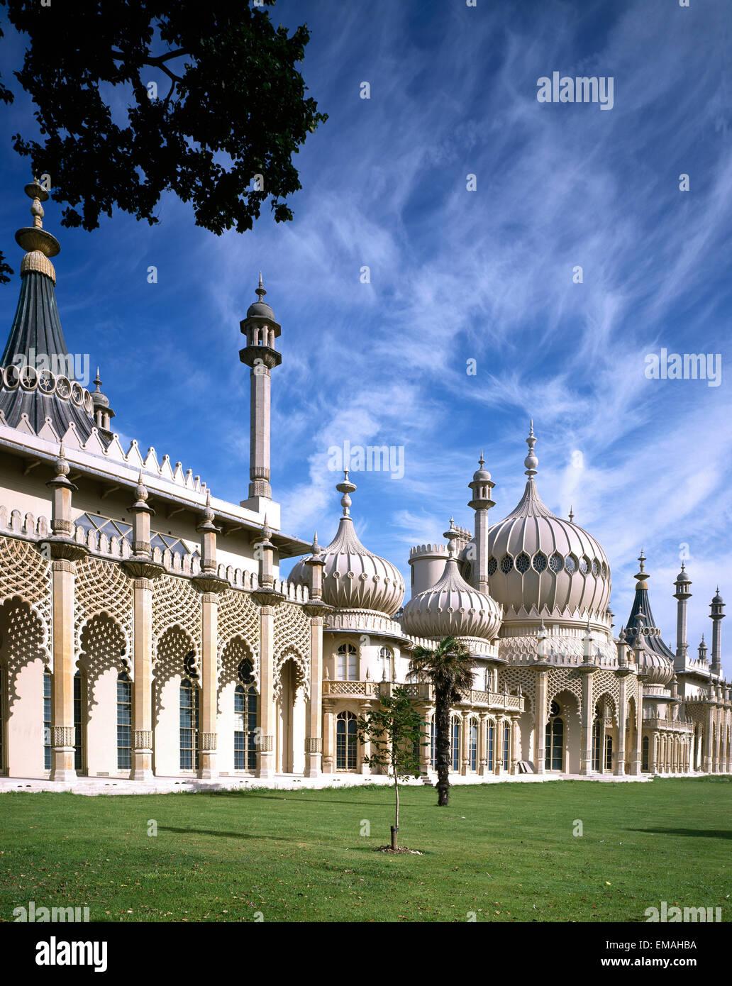 Royal Pavilion, Brighton, East Sussex, England, UK - Stock Image