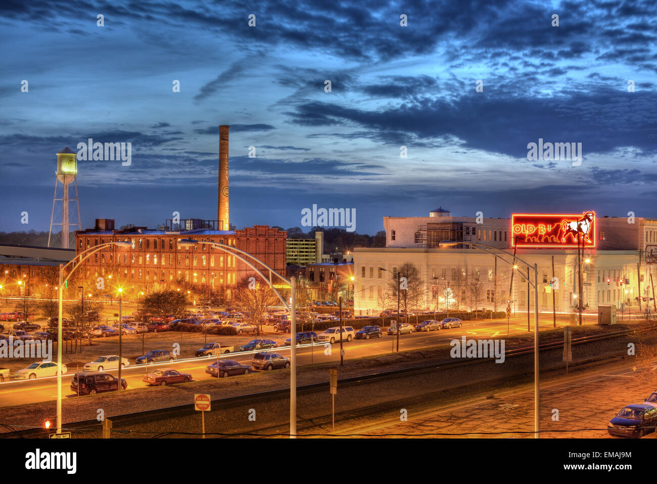 American Tobacco Campus, Durham, North Carolina. - Stock Image