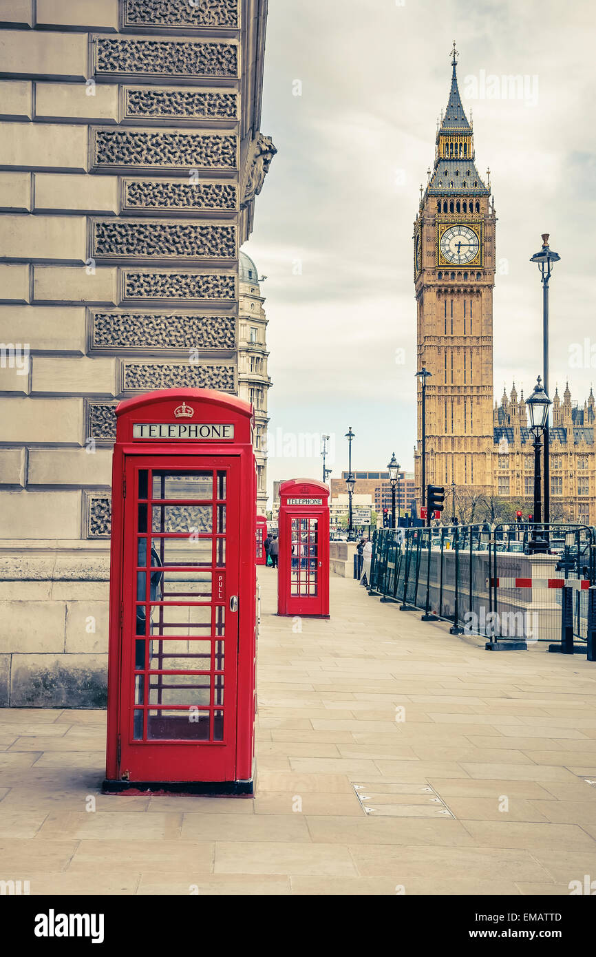 London landmarks - Stock Image