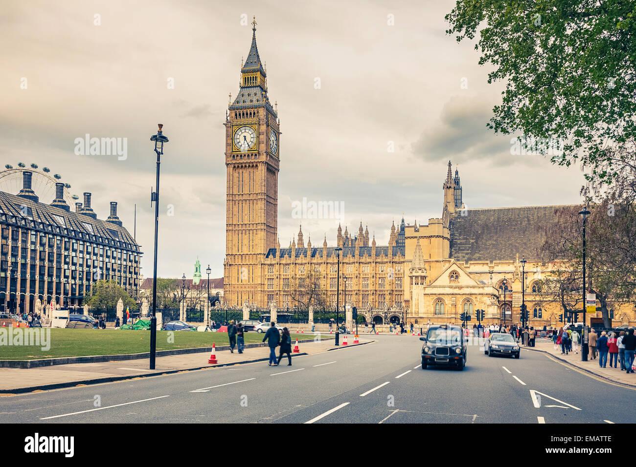 London landmarks - Stock Image
