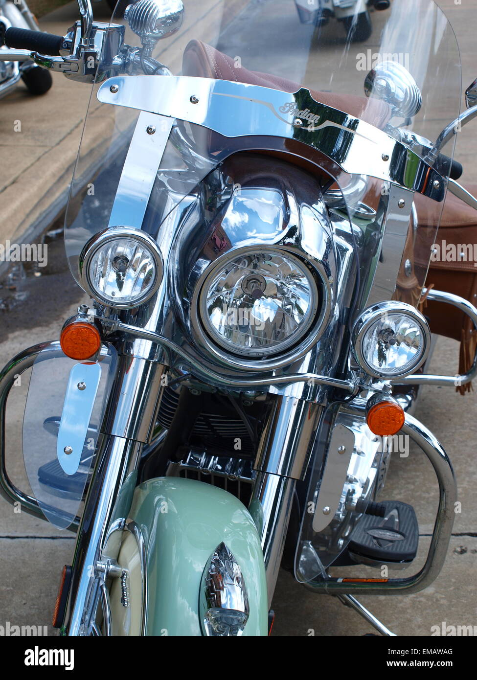 Three Indian Motorcycles One Is 37 Off The Production Line Other