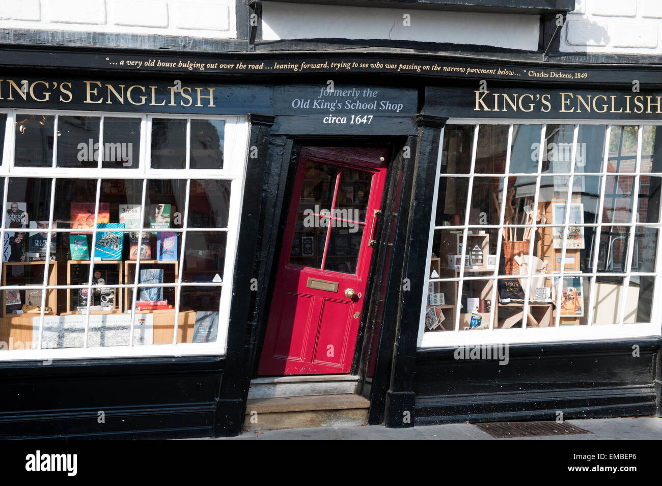 The crooked door of the Old Kingu0027s school shop in Canterbury Kent England europe & The crooked door of the Old Kingu0027s school shop in Canterbury Kent ...