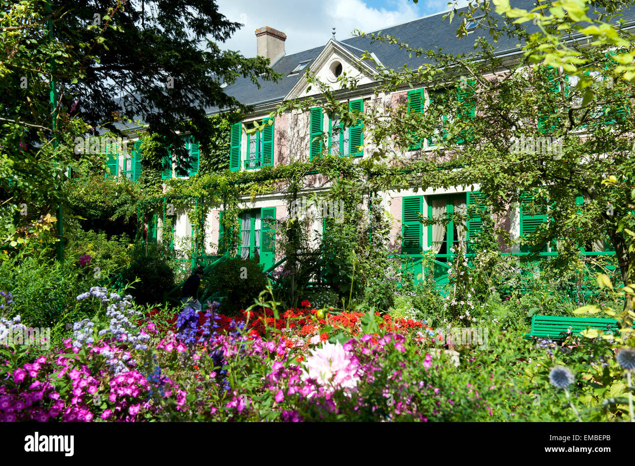 Claude Monet Haus giverny departement eure france europe Stock Photo