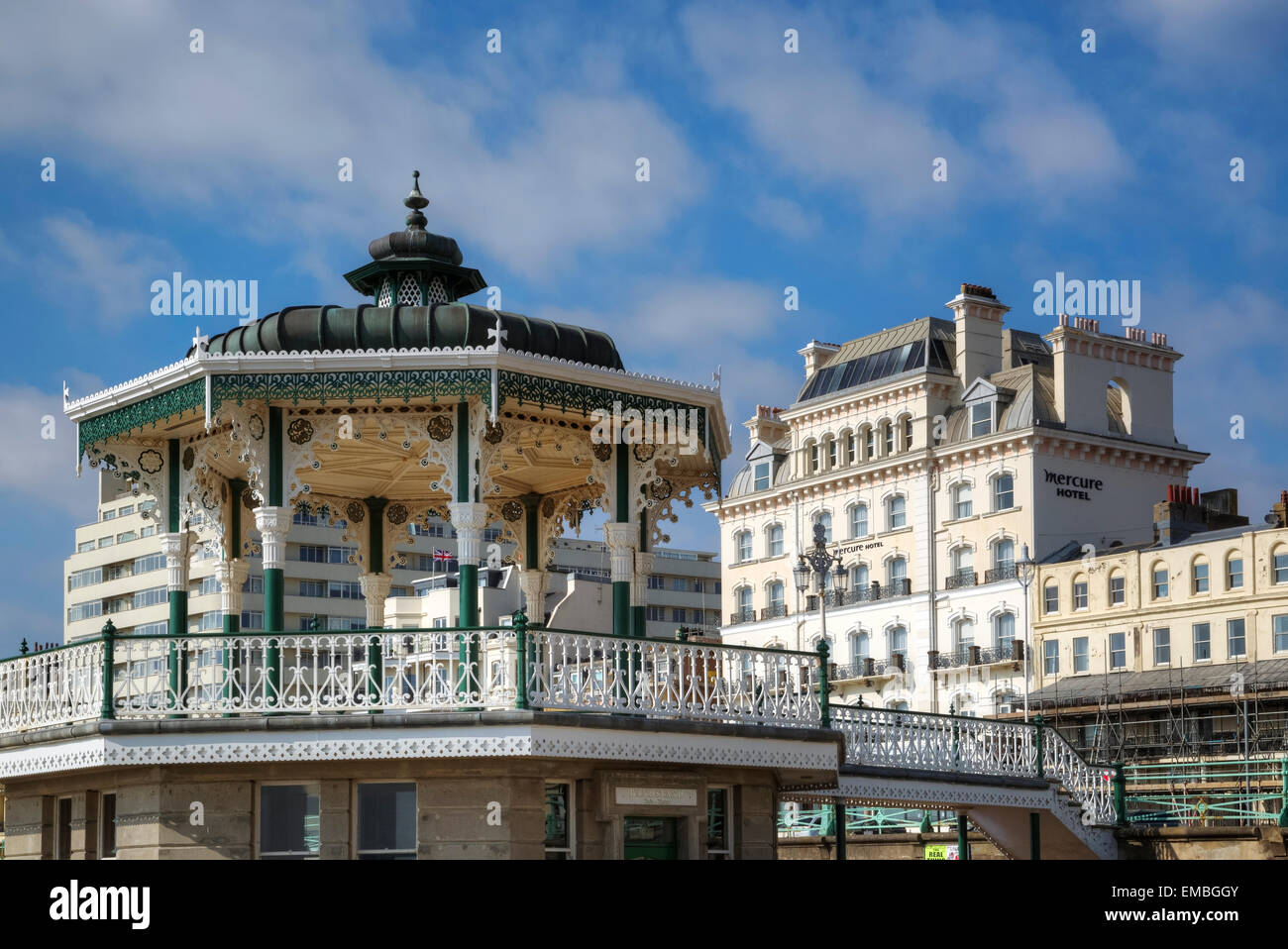Bandstand, Brighton, Sussex, England, United Kingdom - Stock Image
