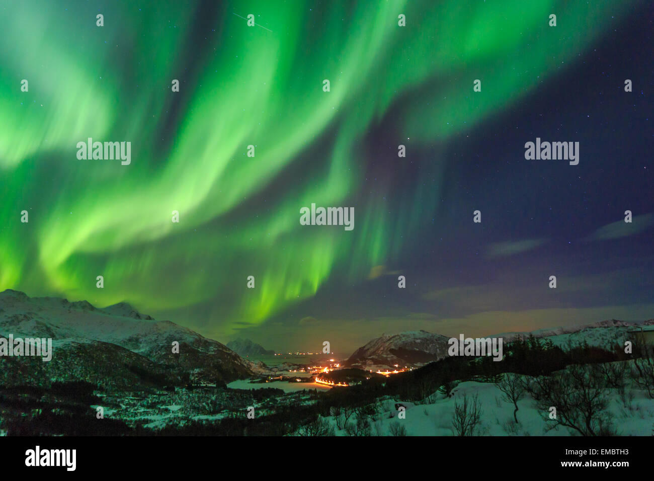 Northern Lights Aurora Norway Borealis Iceland North Nature
