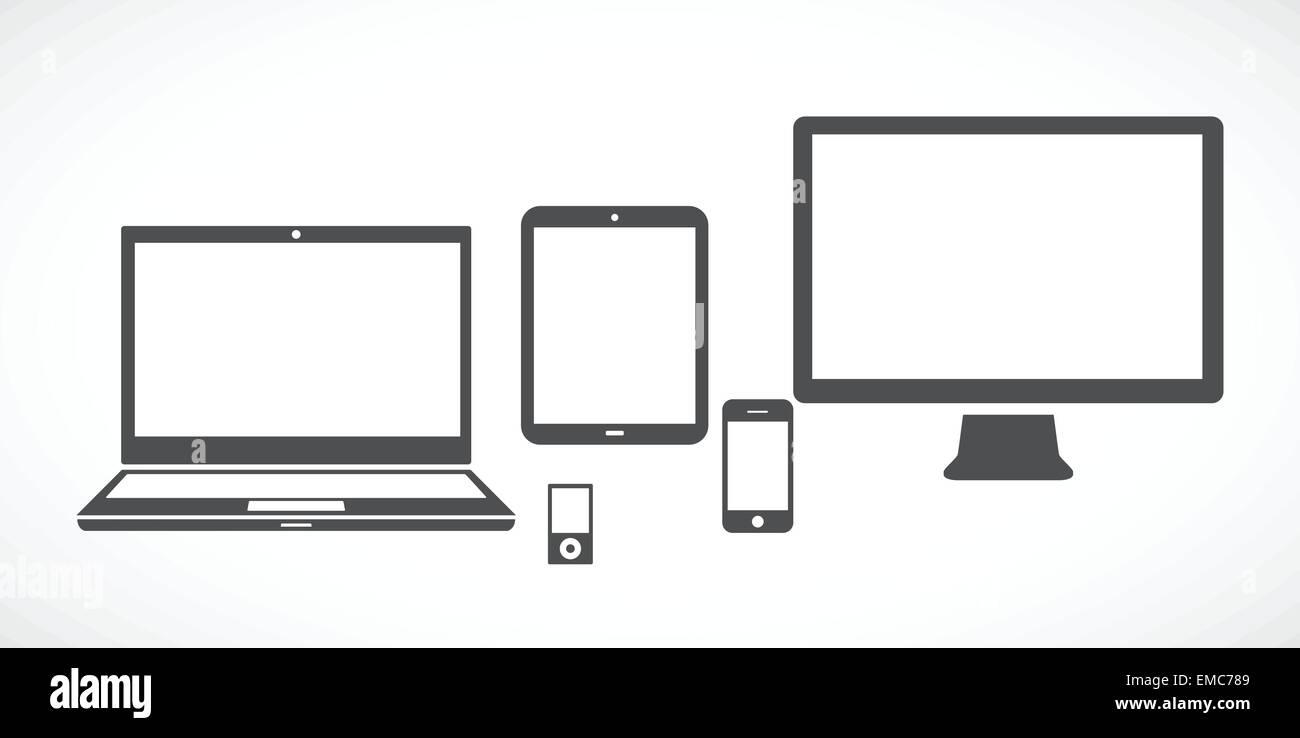 Gadgets - Stock Image