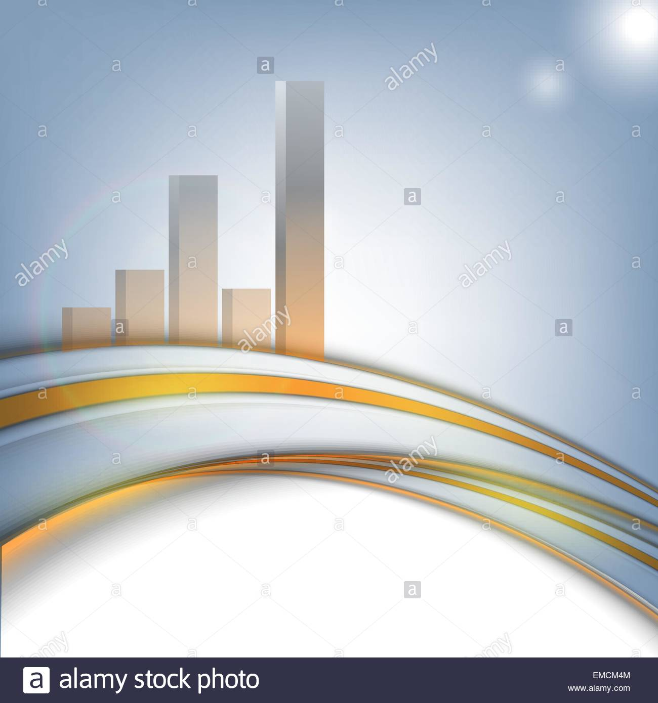 vector corporate statistic background - Stock Image