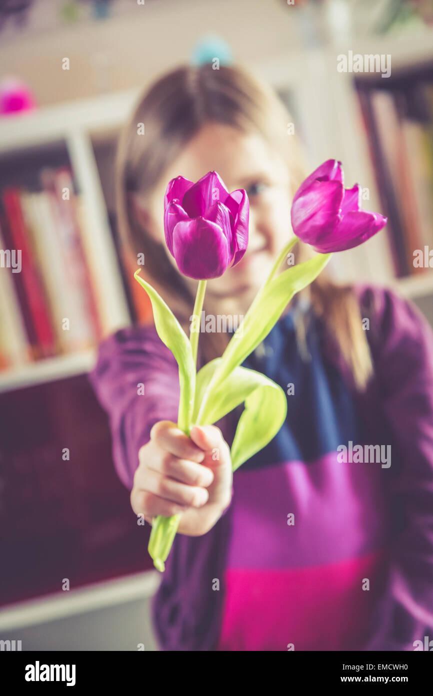 Little Purple Flowers Stock Photos & Little Purple Flowers Stock ...