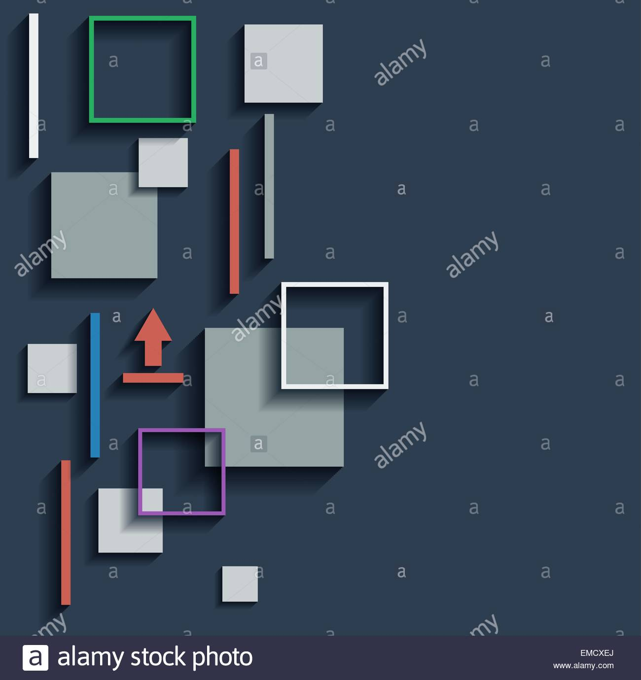 infographic vector elements - Stock Image