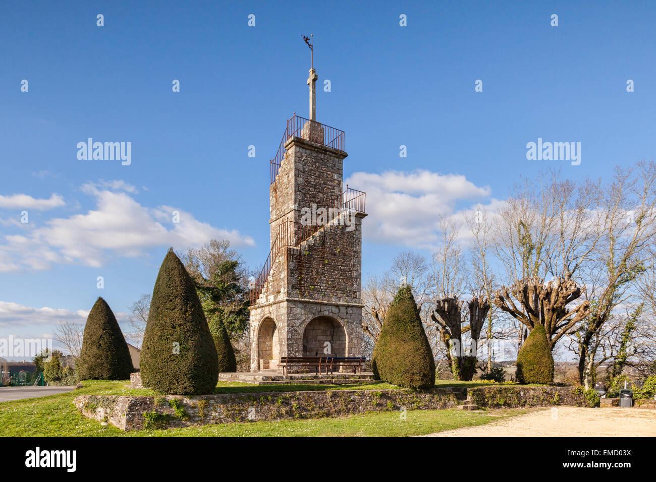 Belvedere, Auray, Braittany, France. - Stock Image