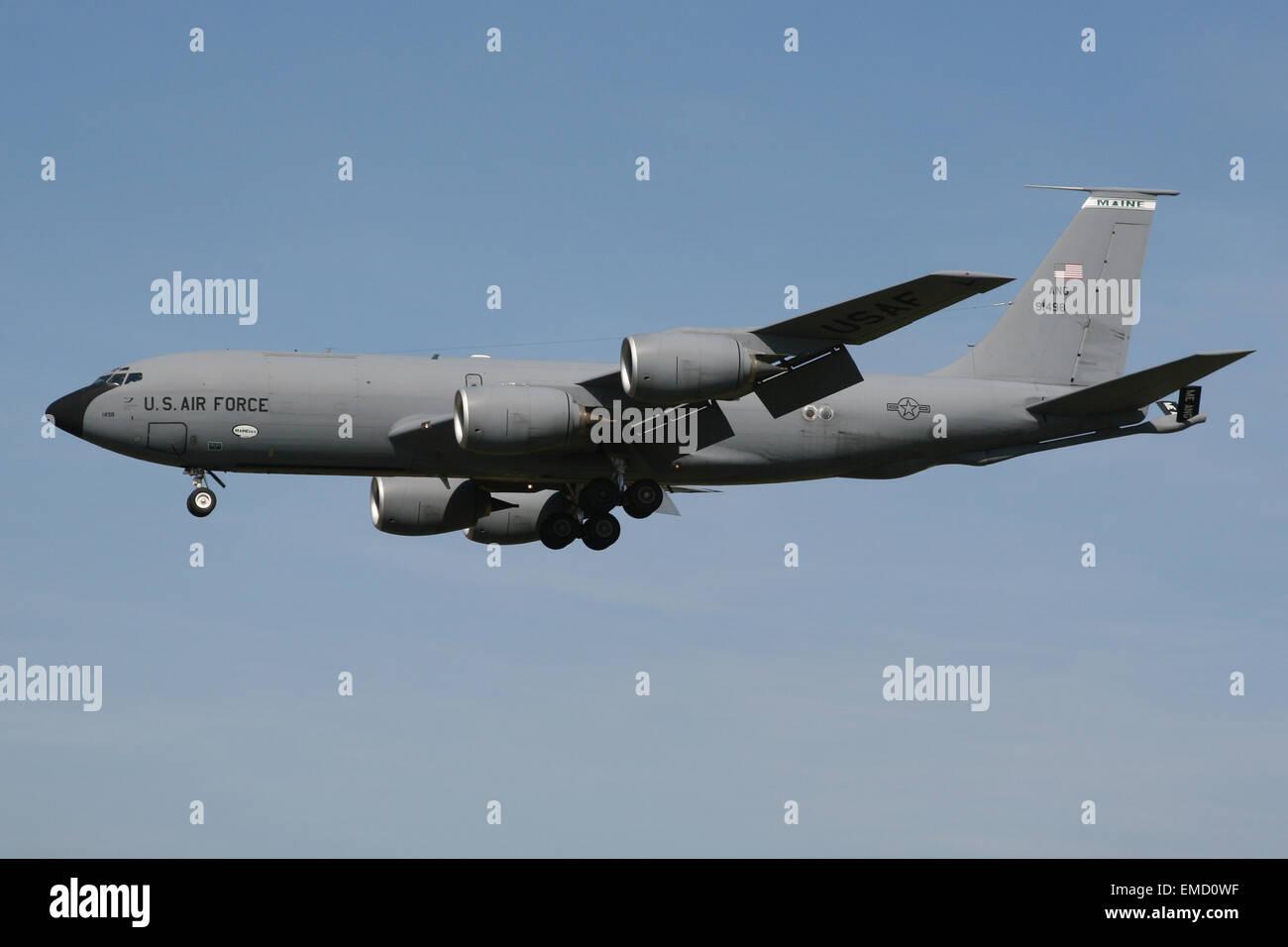 USAF US AIR FORCE KC135 TANKER - Stock Image