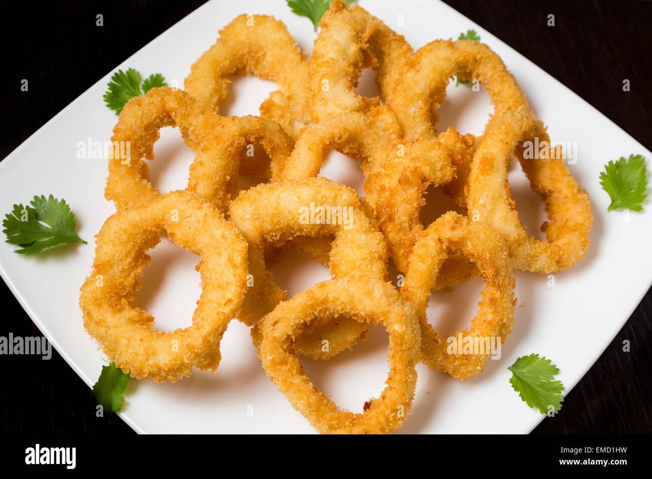 Calamari - Stock Image