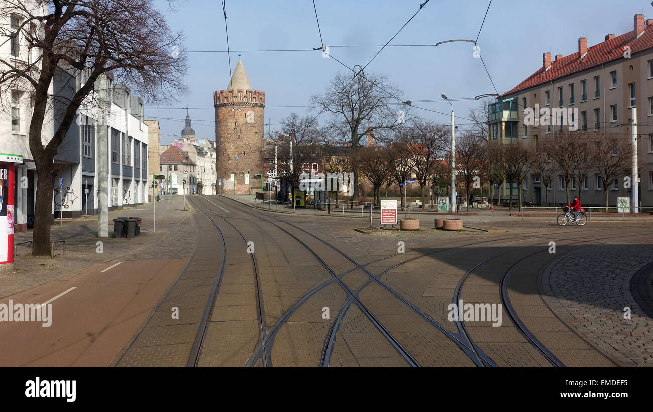 Brandenburg City Centre -1 Stock Photo