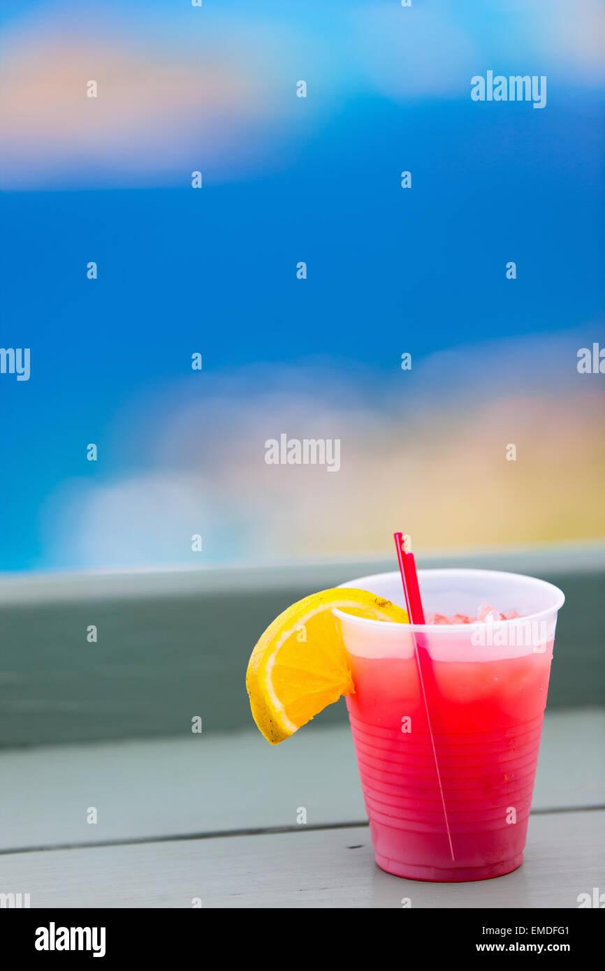 Rum punch - Stock Image