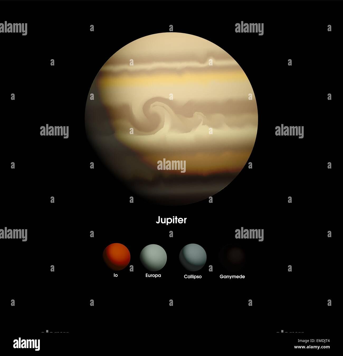 Jupiter - Stock Image