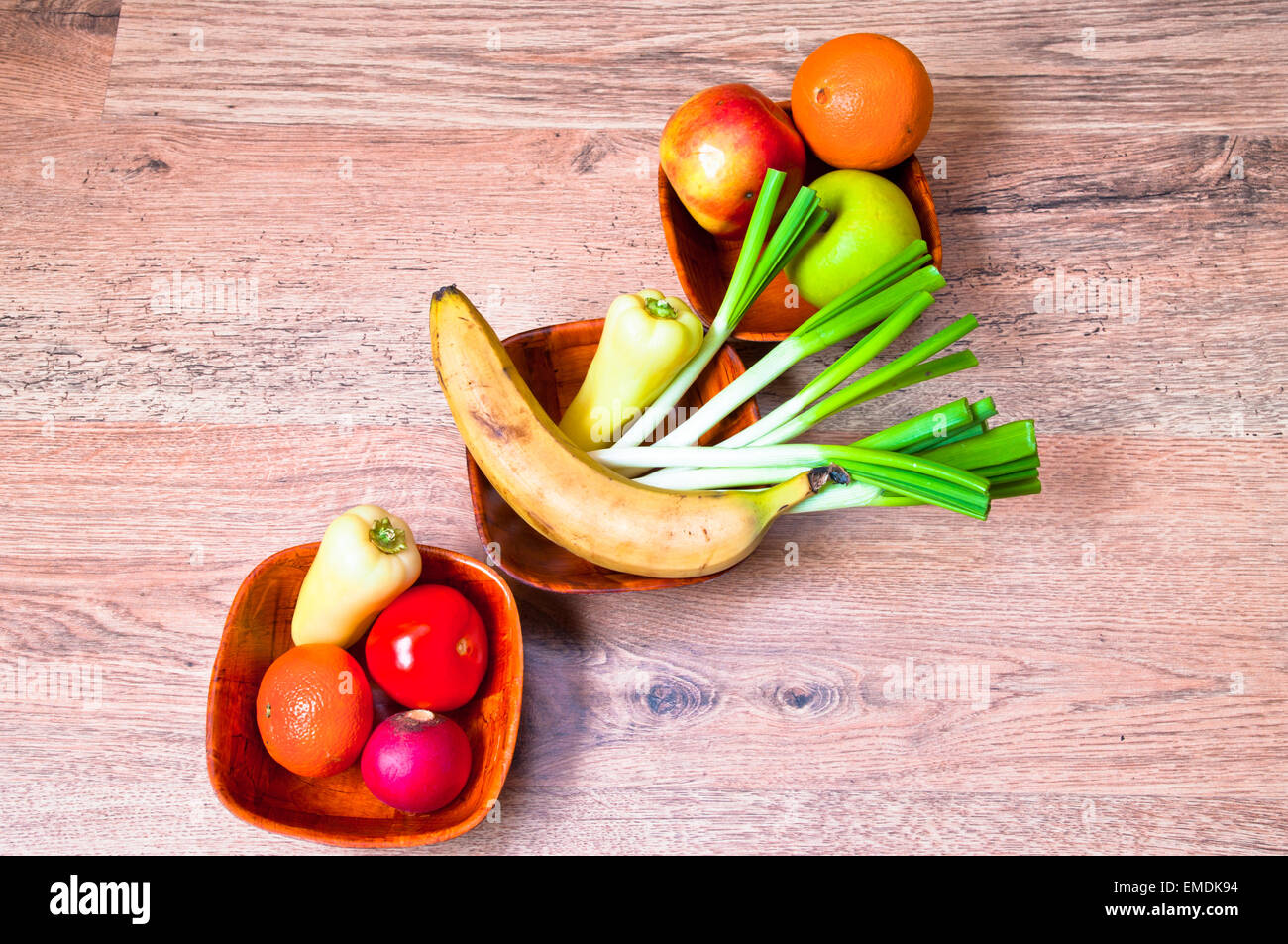 vegetables; food; fruits; fruit; healthy; fresh; background; market; organic; vegetable; table; wooden; green; wood; Stock Photo