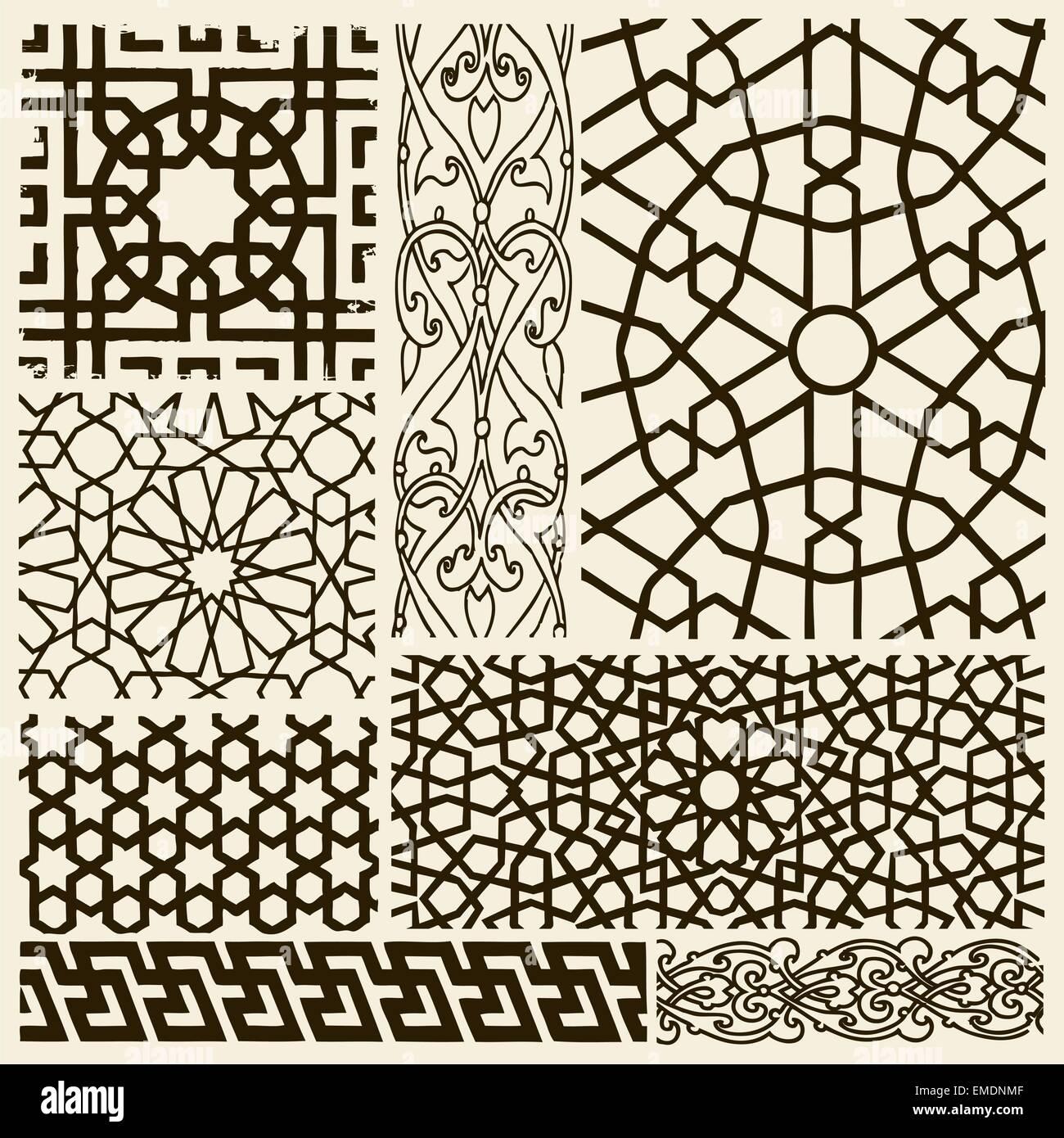 Arabesque Designs - Stock Image