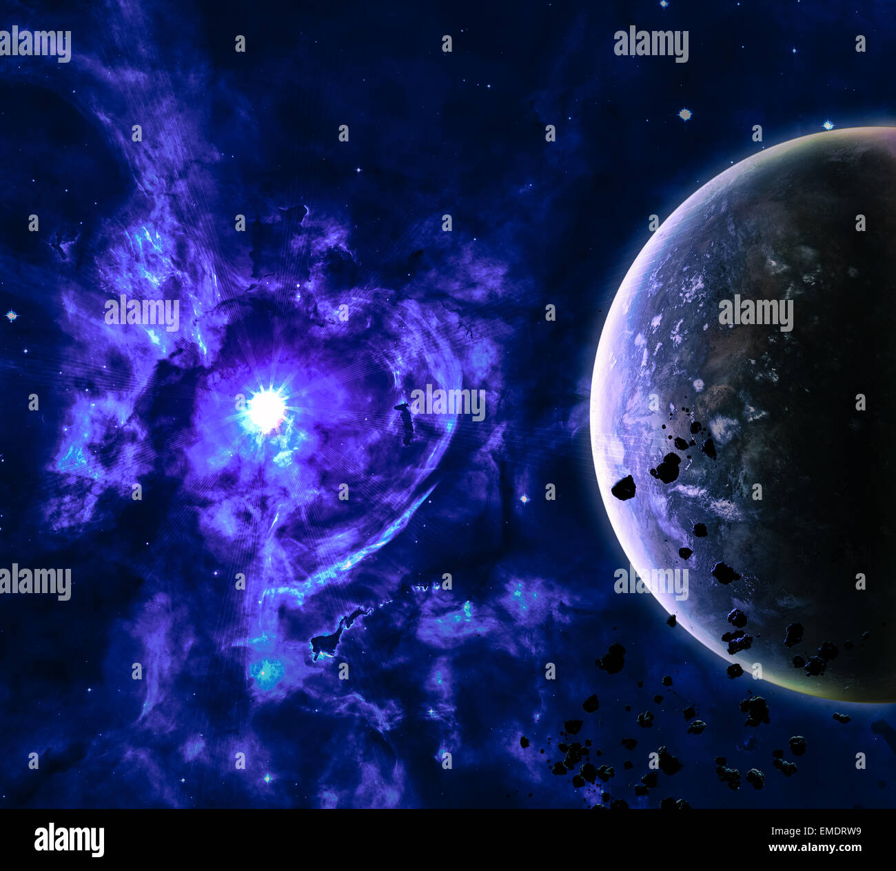 Beautiful Space Background Elements Of This Image Furnished By NASA