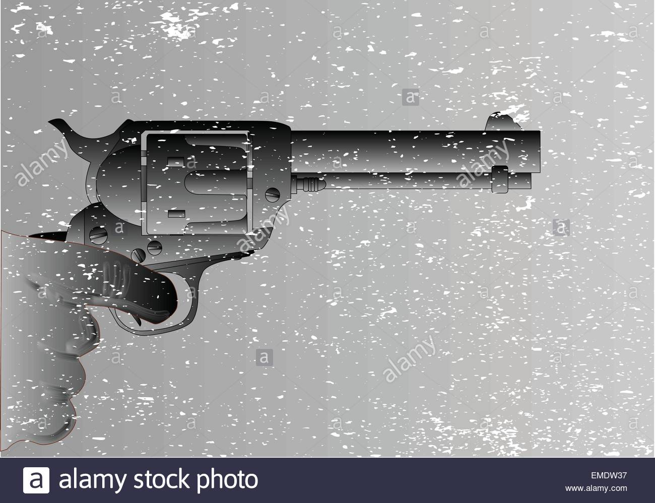 Pulling The Trigger - Stock Image