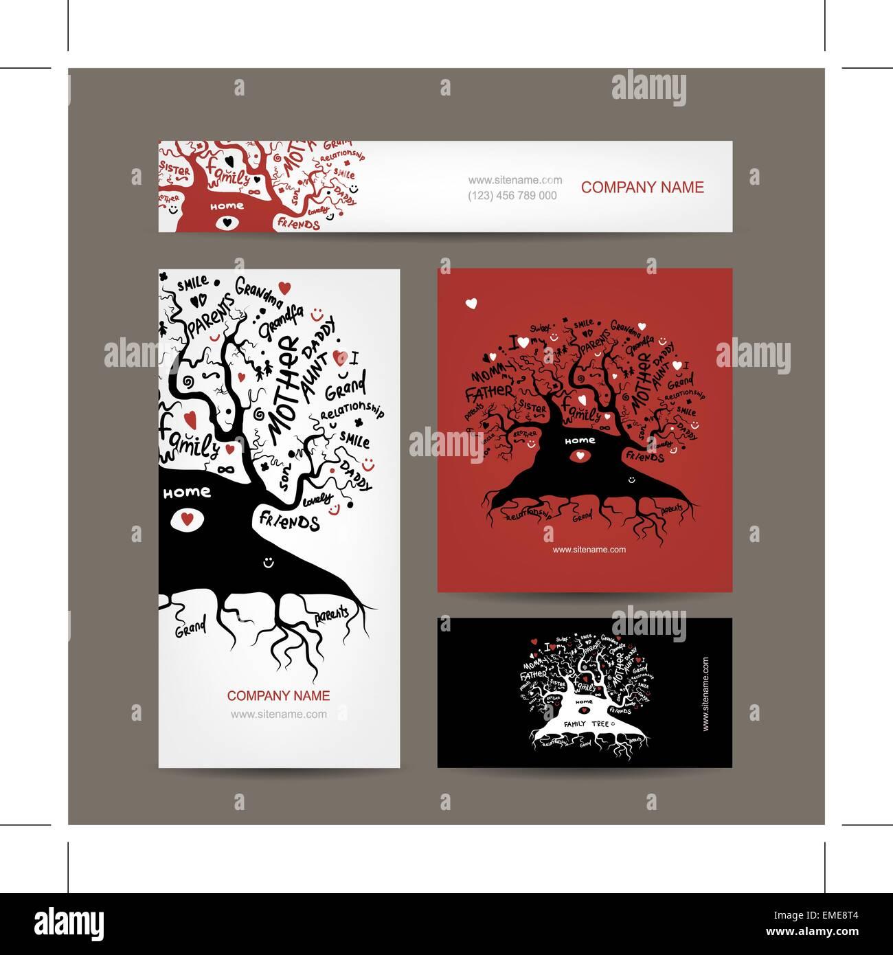Family Tree Genealogy Illustration Stock Photos & Family Tree ...