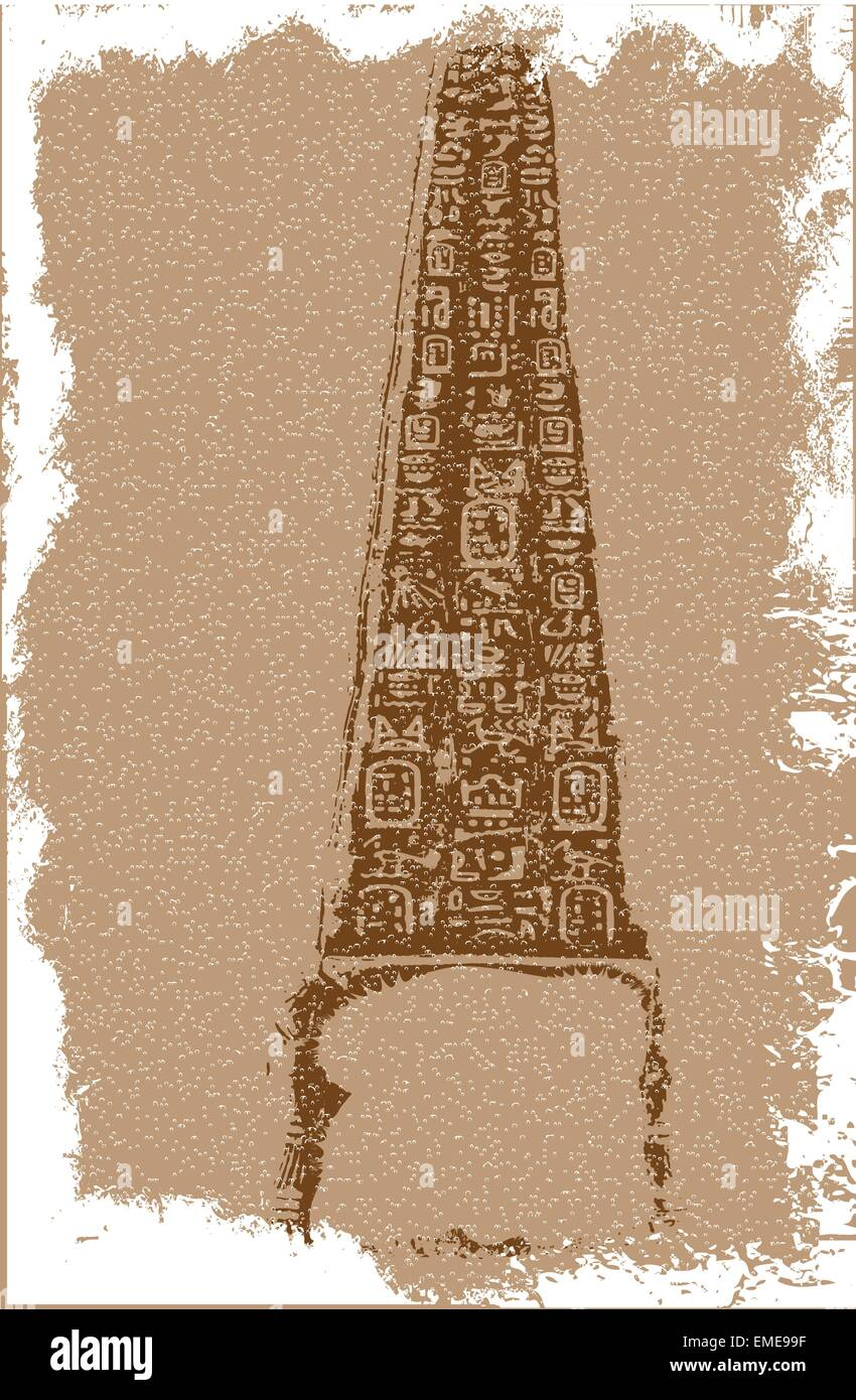 Egyptian Artefact - Stock Vector