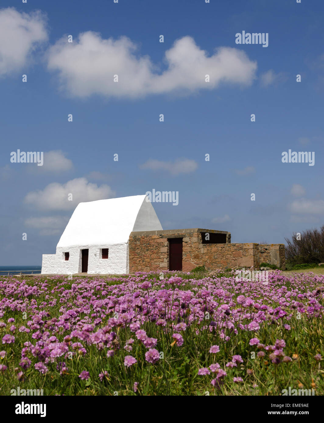 The White House, Jersey, Channel Islands, Great Britain - Stock Image