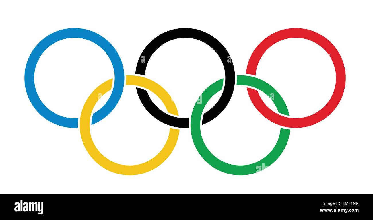 Olympic Rings - Stock Vector
