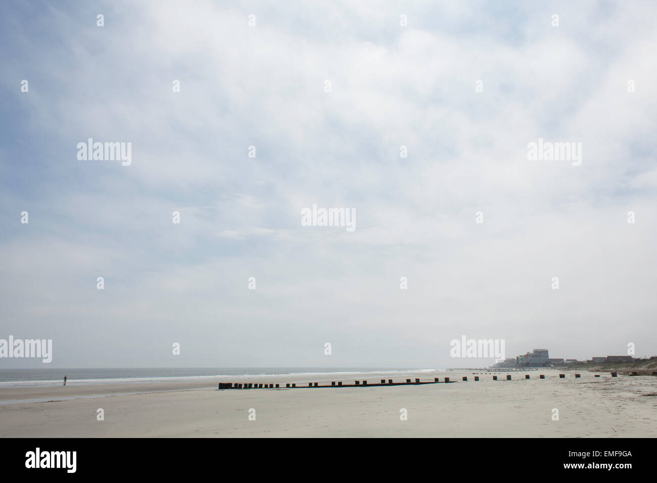 Folly Beach, South Carolina - Stock Image