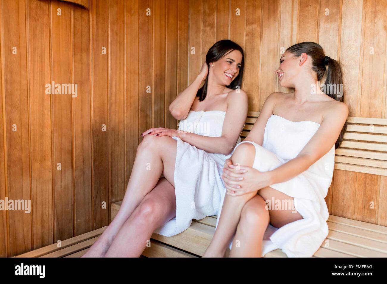 Sexy cute teen fucked in sauna — 12