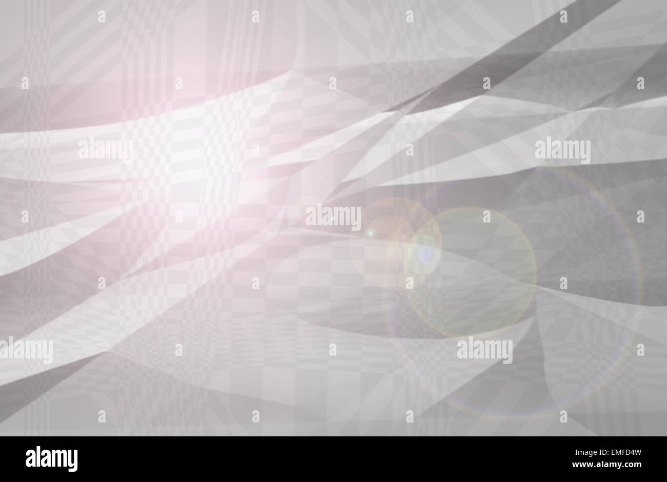 The Abstract and Background Texture Sun Flare with Mountain in Two Tone. - Stock Image