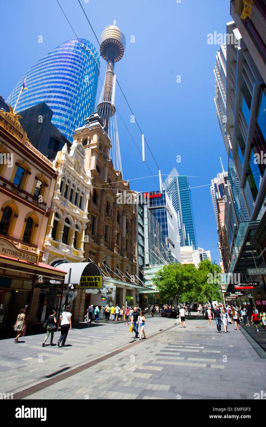 3a4bcec7db3 Sydney Pitt Street Stock Photos   Sydney Pitt Street Stock Images ...