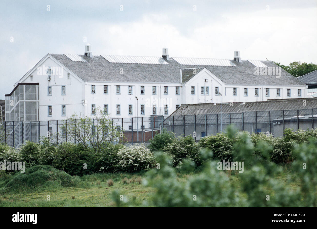 View of Polmont Young Offenders Institution in Reddingmuirhead, Falkirk, the largest of its kind in Scotland. Circa - Stock Image