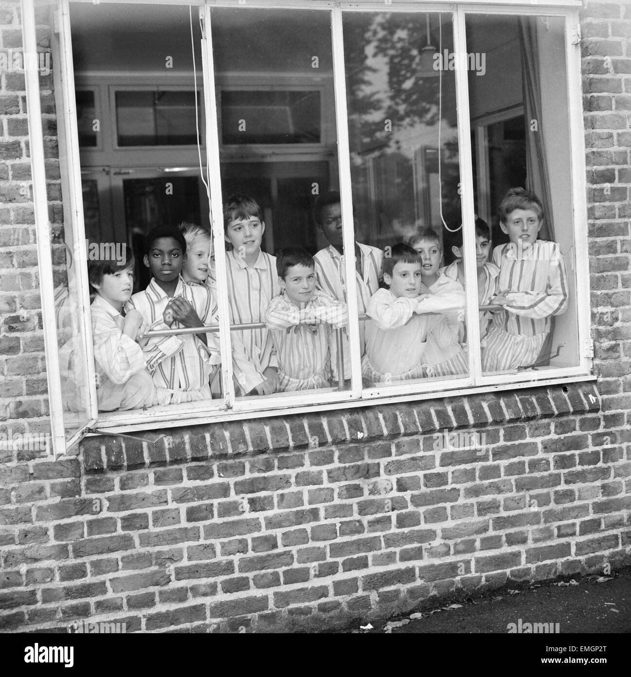 Schoolboys are recovering at the Hither Green Hospital from a mystery bug which affected 77 of them after a canteen - Stock Image