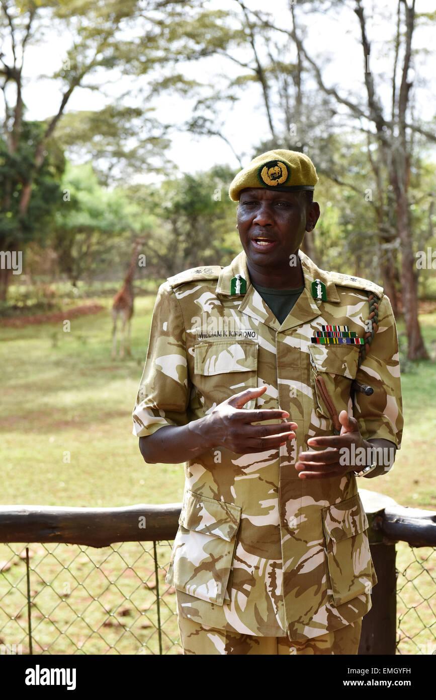 Kenya Wildlife Service Director-General William