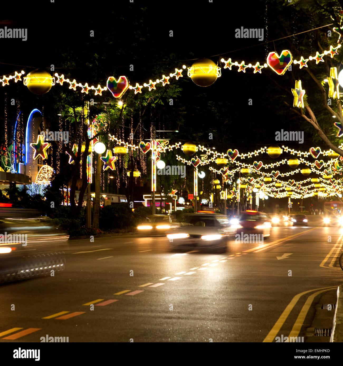 Singapore Christmas Stock Photos & Singapore Christmas